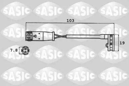 Датчик зносу гальмівних колодок SASIC 6236007.