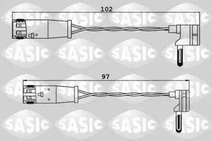 Датчик зносу гальмівних колодок SASIC 6236033.