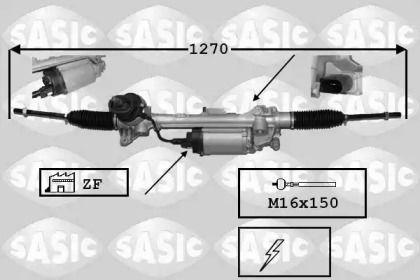 Рулевая рейка С ЭУР (электроусилителем) на SEAT LEON 'SASIC 7176043'.