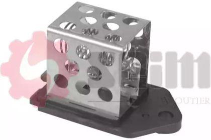 Додатковий резистор, електромотор - вентилятор радіатора 'SEIM 115680'.