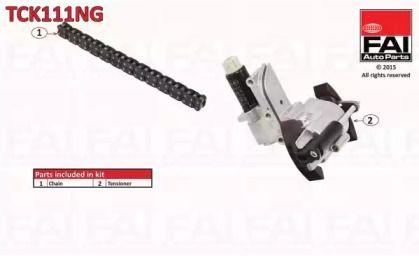 Комплект цепи ГРМ на SEAT TOLEDO 'FAI TCK111NG'.