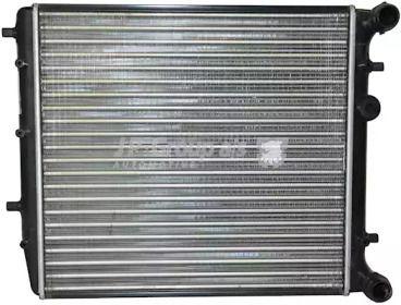 Алюмінієвий радіатор охолодження двигуна на SKODA RAPID 'JP GROUP 1114201000'.