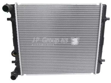 Алюминиевый радиатор охлаждения двигателя на SEAT LEON 'JP GROUP 1114201100'.