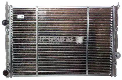 Мідний радіатор охолодження двигуна JP GROUP 1114201500.