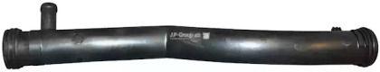 Патрубок радиатора на SKODA OCTAVIA A5 'JP GROUP 1114402400'.