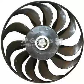 Крыльчатка вентилятора охлаждения двигателя на VOLKSWAGEN GOLF JP GROUP 1114900480.