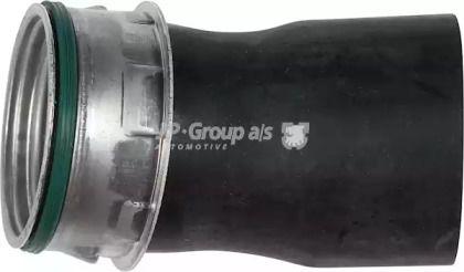Патрубок интеркулера на SKODA OCTAVIA A5 'JP GROUP 1117702200'.