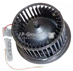 Вентилятор печки на Фольксваген Гольф 'JP GROUP 1126101000'.