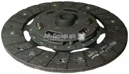 Диск сцепления на VOLKSWAGEN PASSAT JP GROUP 1130201800.