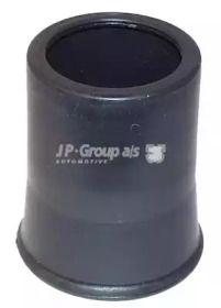 Пыльник переднего амортизатора на VOLKSWAGEN GOLF 'JP GROUP 1142700600'.