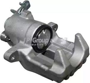 Суппорт тормозной задний правый на Шкода Октавия А5 'JP GROUP 1162001180'.