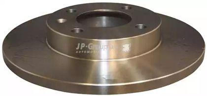 Передний тормозной диск на AUDI 90 'JP GROUP 1163102000'.