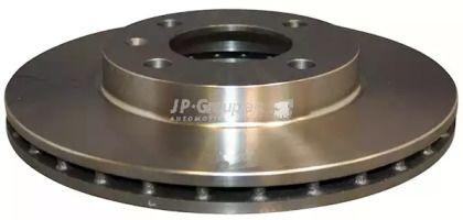 Вентилируемый передний тормозной диск на AUDI 90 'JP GROUP 1163102100'.