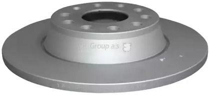 Задний тормозной диск на Ауди Ку3 'JP GROUP 1163200900'.