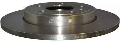 Задний тормозной диск на Сеат Эксео 'JP GROUP 1163203500'.