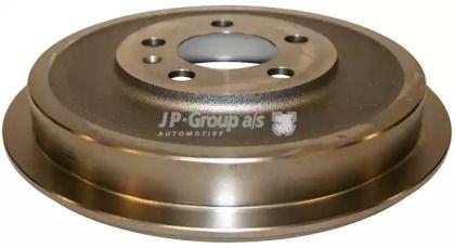 Задний тормозной барабан 'JP GROUP 1163500800'.
