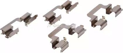 Скобы тормозных колодок на Альфа Ромео 159 'JP GROUP 1163750110'.