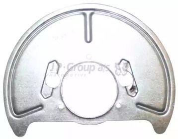 Защитный кожух тормозного диска 'JP GROUP 1164200370'.