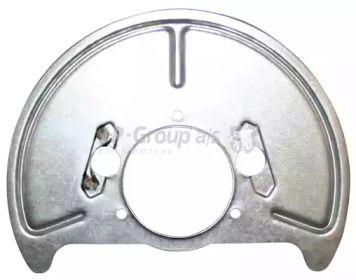 Защитный кожух тормозного диска 'JP GROUP 1164200380'.