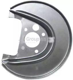 Защитный кожух тормозного диска на Фольксваген Гольф 'JP GROUP 1164300280'.