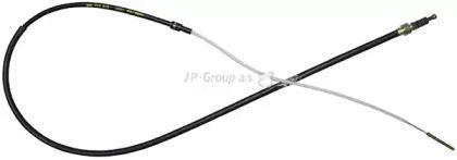 Трос ручника на VOLKSWAGEN PASSAT 'JP GROUP 1170303400'.