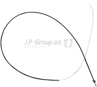 Трос замка капота 'JP GROUP 1170700900'.