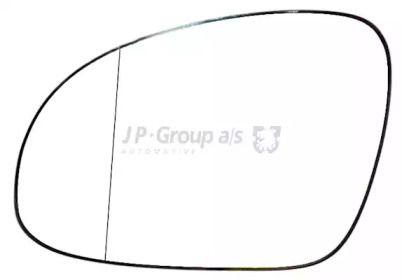 Ліве скло дзеркала заднього виду JP GROUP 1189304570.