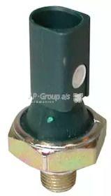 Датчик давления масла на VOLKSWAGEN PASSAT 'JP GROUP 1193500600'.