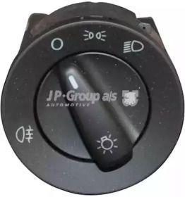 Переключатель света фар на SKODA OCTAVIA A5 'JP GROUP 1196101400'.