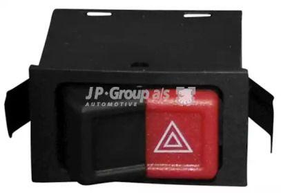 Кнопка аварийки на Фольксваген Гольф 'JP GROUP 1196300200'.