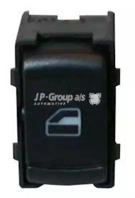 Кнопка стеклоподъемника 'JP GROUP 1196701300'.