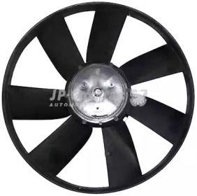 Вентилятор охлаждения радиатора на Фольксваген Пассат 'JP GROUP 1199100700'.