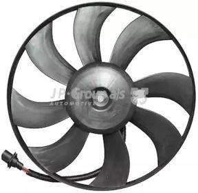 Вентилятор охолодження радіатора 'JP GROUP 1199103700'.