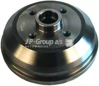 Задний тормозной барабан на Опель Корса 'JP GROUP 1263500400'.