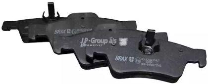 Заднї гальмівні колодки на Мерседес ЦЛС 'JP GROUP 1363701010'.