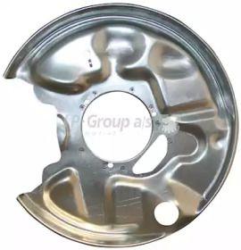 Захисний кожух гальмівного диска на Мерседес Е Клас  JP GROUP 1364300170.