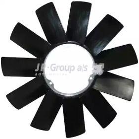 Крыльчатка вентилятора охлаждения двигателя 'JP GROUP 1414900800'.