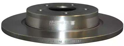 Задний тормозной диск на Вольво С40 'JP GROUP 1563200700'.