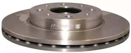 Вентилируемый передний тормозной диск на Фиат 500С 'JP GROUP 3363101100'.