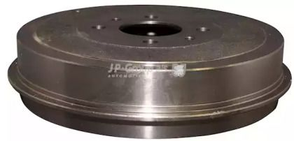 Задний тормозной барабан на FIAT MULTIPLA JP GROUP 3363500100.