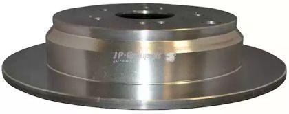 Задний тормозной диск 'JP GROUP 3463200800'.