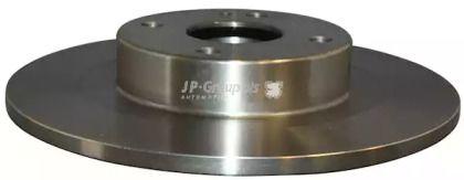 Задний тормозной диск на MAZDA 323 'JP GROUP 3863200200'.