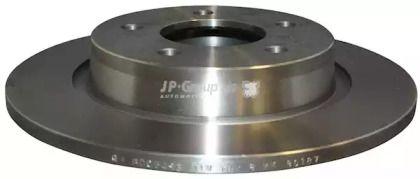 Задний тормозной диск на MAZDA 5 'JP GROUP 3863200500'.