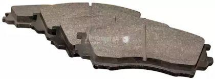 Переднї гальмівні колодки на Мазда Кседос 9 'JP GROUP 3863600310'.