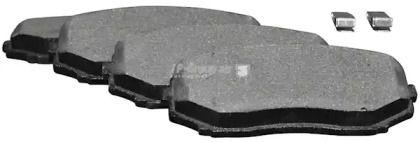 Переднї гальмівні колодки на Мазда СХ9 JP GROUP 3863600810.