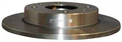 Задний тормозной диск 'JP GROUP 3963200500'.