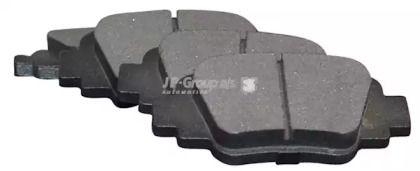 Задние тормозные колодки JP GROUP 4063700210.