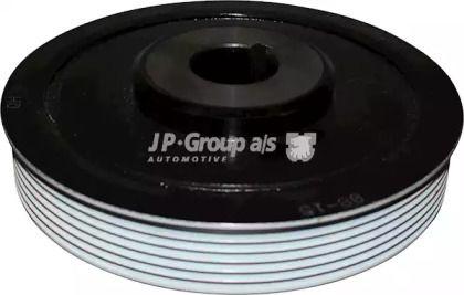 Шкив коленвала на CITROEN JUMPY 'JP GROUP 4118300200'.