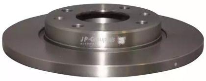 Передний тормозной диск 'JP GROUP 4163102800'.