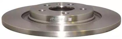 Задний тормозной диск на Лянча Федра 'JP GROUP 4163200300'.